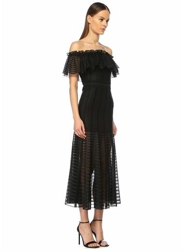 Alexander McQueen Elbise Siyah